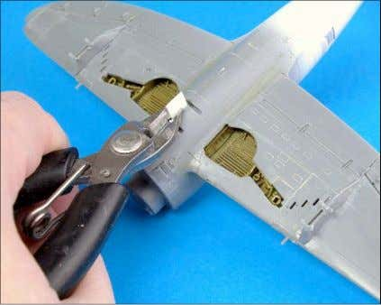 as in this case, by buffing and polishing to a high shine. Tamiya has moulded a