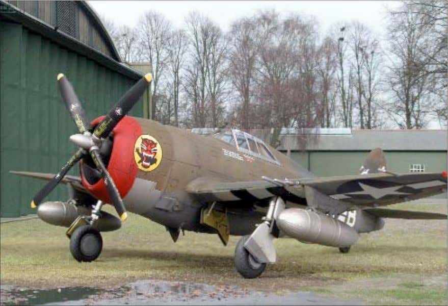 during my 2003 visit to Duxford. The photos of the model and the backgrounds were merged