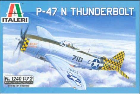 build) High Planes kit remains the most accurate P-47N Thunderbolt in 1/72 scale. Italeri's 1/72-scale P-47N