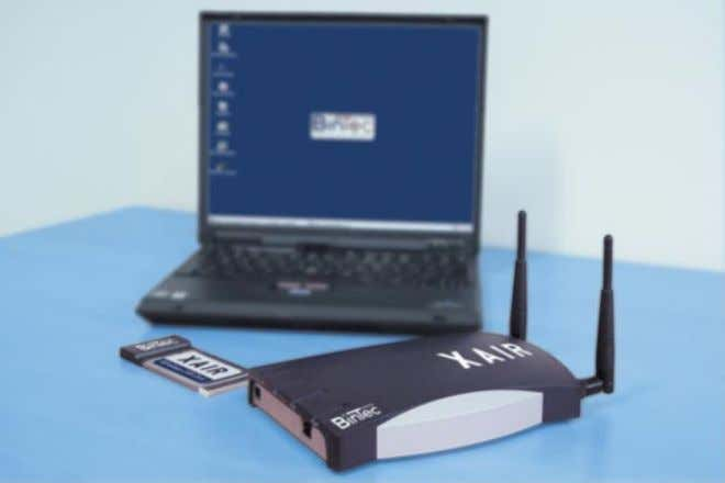 such as data, fax, e-mail, and Internet, via the same wireless network. Figure 1-1: XAir XAir