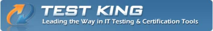 TestKing Cisco 642-975 Exam Questions & Answers 642-975 Data Center Application Services Implementation Exam