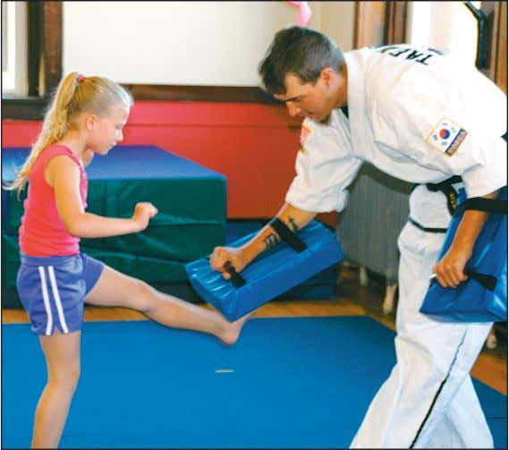 TV 12A World News 13-14A Restaurant page 3B Stacy Taff photo A special Tae Kwon Do