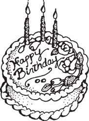 any corrections or additions to the Coming Events column. Happy Birthday OCT. 9 Elizabeth Luersman Brian