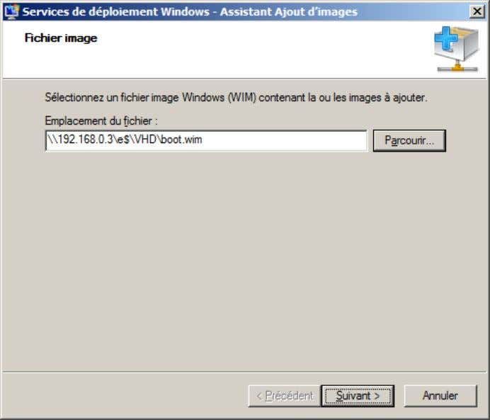trouve sur le DVD d'installation de Windows Serve u r 2008 : Ensuite, donner un nom