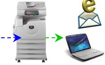 documents and send the scanned data as an e-mail attachment Output Color/dpi Page 18 Set scanning