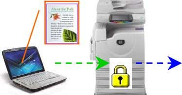 the machine and prints when UserID & password entered. Booklet Printing Page 24 To print multi-page