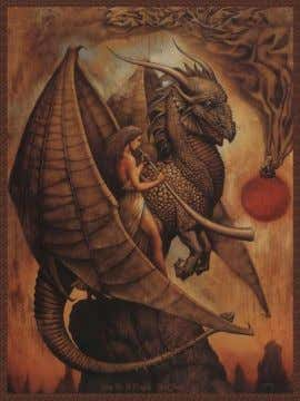 is what the power will be No dragon is weak or small For dragon magick conquers