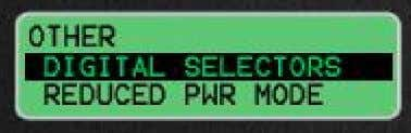 34 Caterpillar Inc. Select the Digital Selector that you want to program and press the Enter