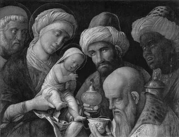 234 RES 59/60 SPRING/AUTUMN 2011 Figure 7. Andrea Mantegna, Adoration of the Magi, 1490s. Getty Museum,