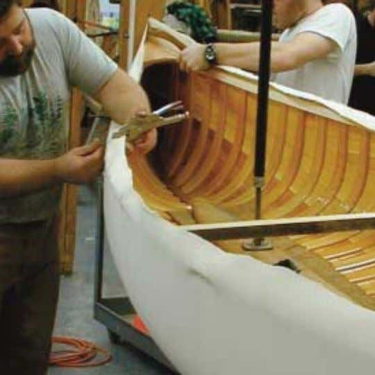 "are incredible in their skills and ability to work together."" Order Toll Free 1-888-564-2710 www.woodencanoes.com"