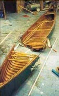 "Restoration and Repair ""Given one rib, I could build a canoe around it – that's no"