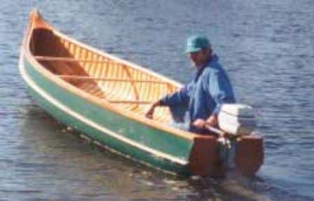 "48"" Bow Height ~ 32"" ~ 180 lbs Weight 7 Order Toll Free 1-888-564-2710 www.woodencanoes.com"