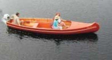 deck, thwarts and stern seat are used on the basic model. Traveler Specifications: ~ Length 17