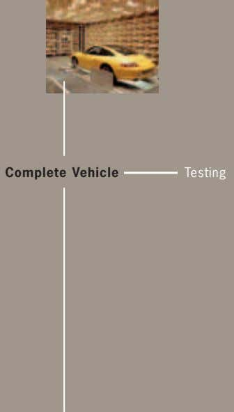 Complete Vehicle Testing