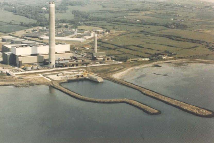 in siting power plants near available water sources. Photograph 6: Inshore Intake at Kilroot, Carrickfergus