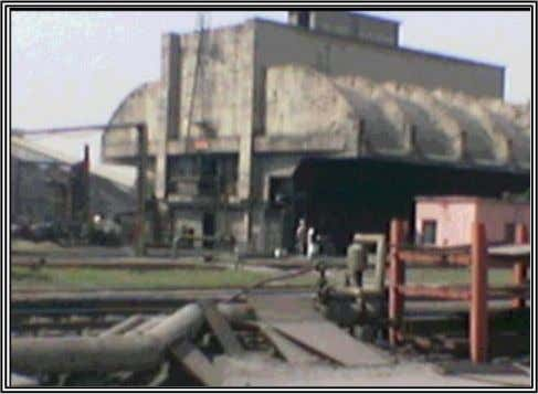 26 UNLOADING OF COAL:- In order to unload coal from the wagons, two Roadside Tipplers of
