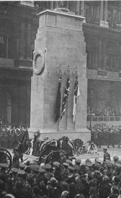 Edwin Lutyens 1869 - 1944 The Cenotaph • Lutyens was commissioned to design a temporary memorial
