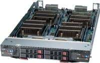 cards per node) Ivy Bridge TwinBlade® 2 DP Nodes in 1 Blade Ivy Bridge Storage Blade