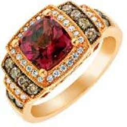 in rose gold or two-tone rose gold and platinum or titanium. Birthstones January - Garnet. Known