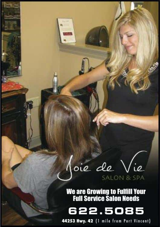 We are Growing to Fulfill Your Full Service Salon Needs 6 2 2 . 5