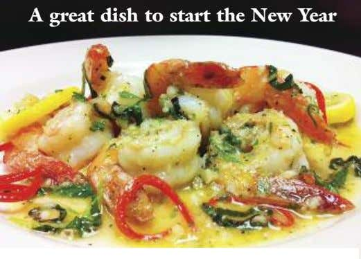 A great dish to start the New Year