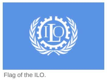 Flag of the ILO.
