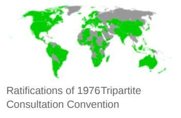Ratifications of 1976Tripartite Consultation Convention