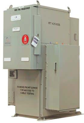 VRNFS 17.5KV, 2 ring switches 630A + 1VCB 400A VRN24 24kV, 2 ring switches 630A +