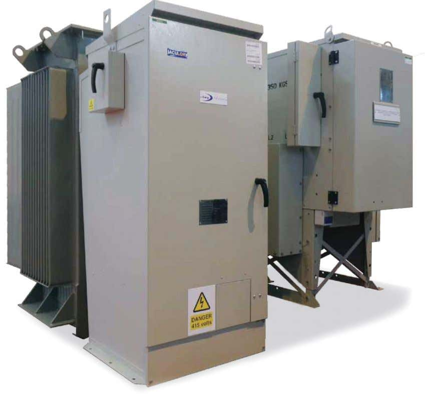 • Transformer mounted unit The Sabre ring main unit along with the low voltage distribution cabinet