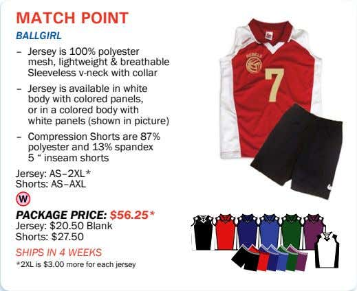 match point ballgirl – Jersey is 100% polyester mesh, lightweight & breathable Sleeveless v-neck with