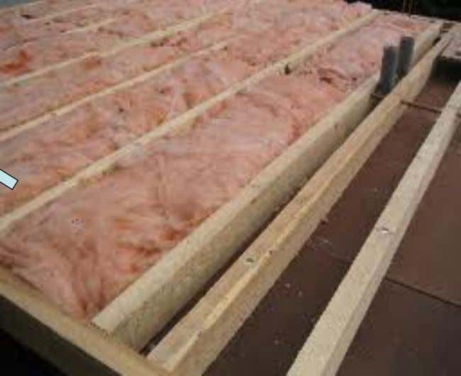 Floor insulation Insulation Material (wool) Insulation floor panel will be install above 22