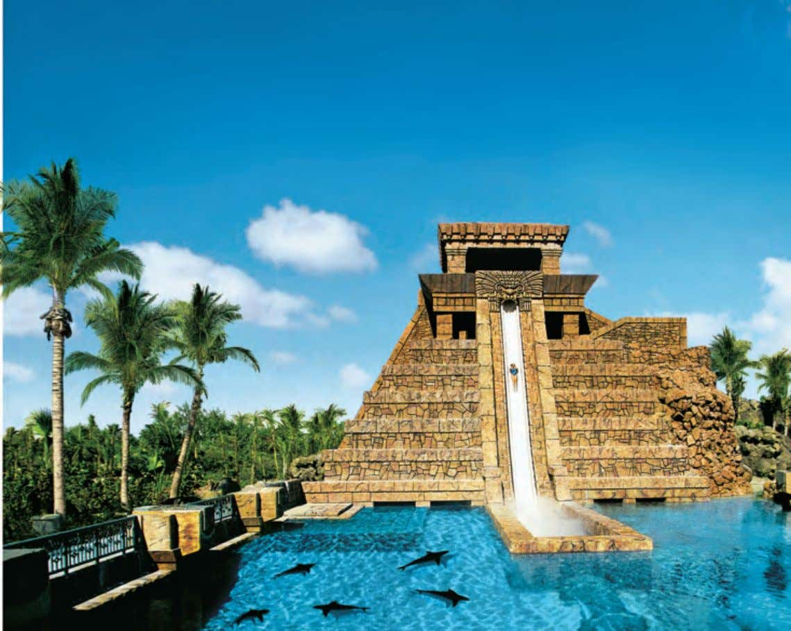 Hotels & Hospitality Mythical Atlantis A near perfect replica of its sister property in Nassau, Bahamas,