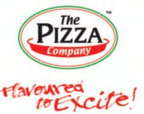 Casual Dining and F&B The Pizza Company Welcome to the Thai pizza, spiked with lemongrass and