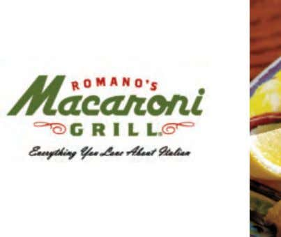 Casual Dining and F&B Macaroni Grill Want to let your hair down and tuck into wholesome