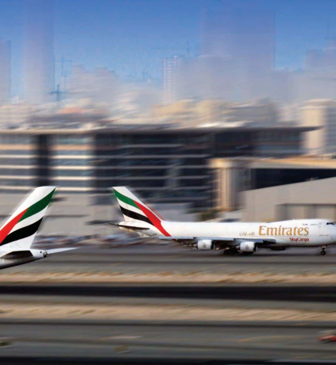 """The future has arrived"". Sheikh Ahmed bin Saeed Al Maktoum, Chairman & Chief Executive, Emirates Airline"