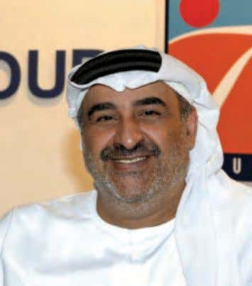Sheikh Faisal Al Qassemi, Chairman, Orient Travel & Orient Tours T his is no surprise when