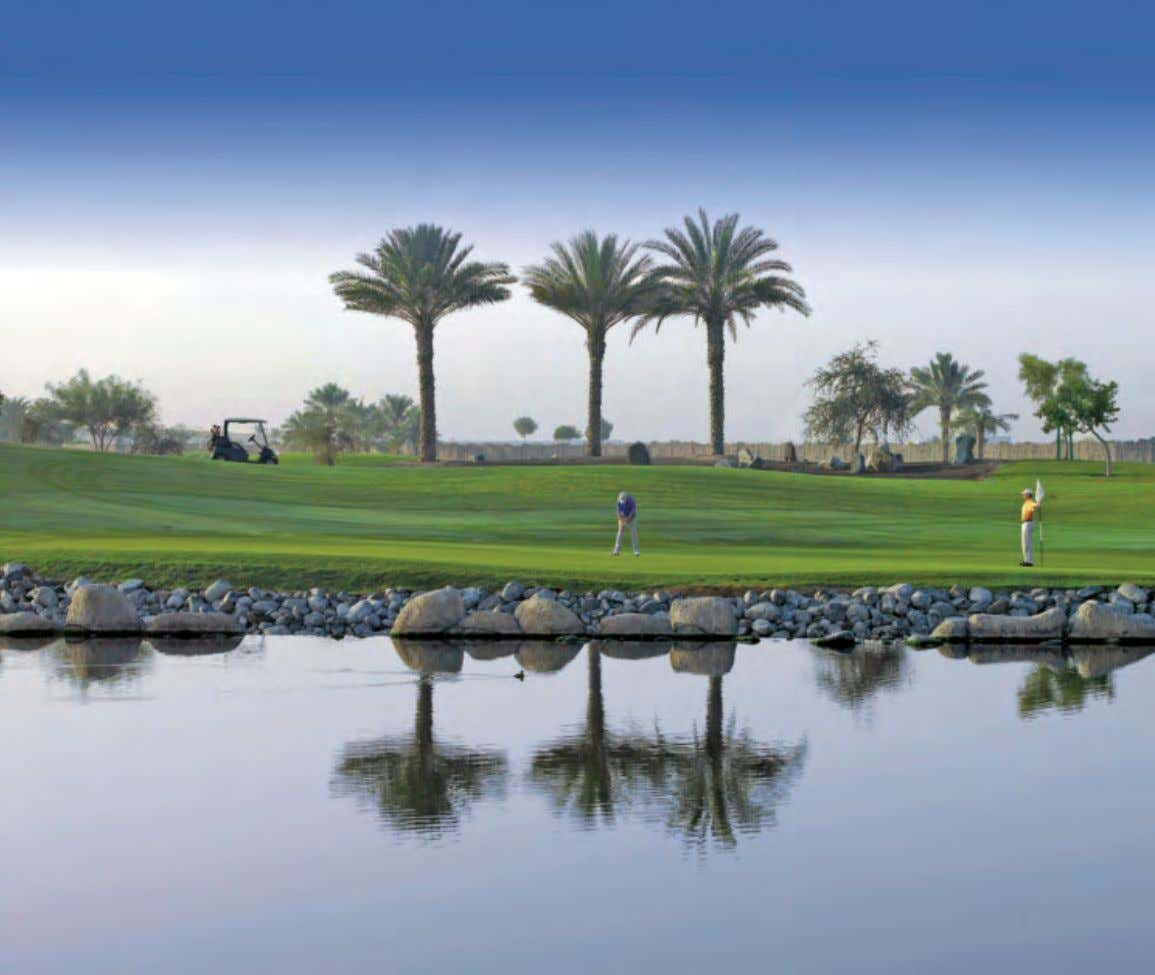 Golf & Luxury Lifestyles Tee Terrific Boasting international tournaments, championship standard grass courses as well as