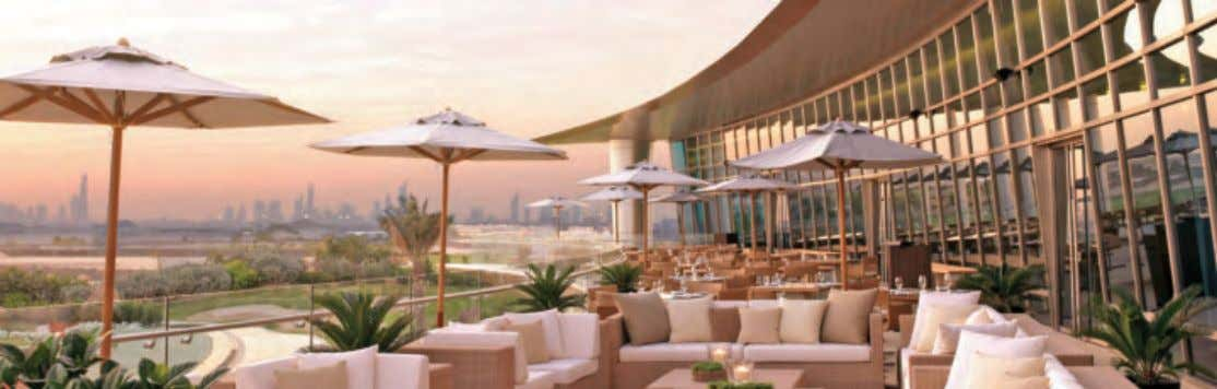 Different hospitality options at Four Seasons Golf, where recreation and conviviality come together Best of Dubai
