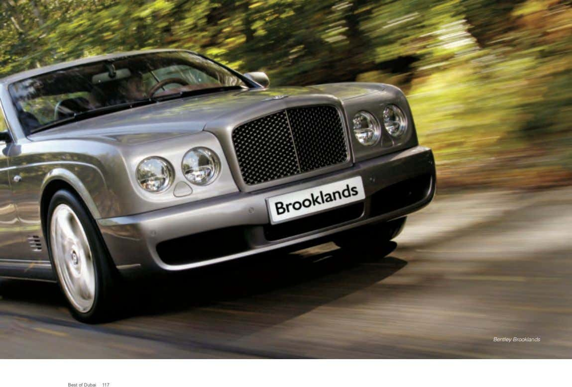 Bentley Brooklands Best of Dubai 117