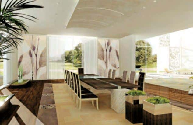 A vibrant lifestyle of luxury The final design is then taken into the manufacturing stage where