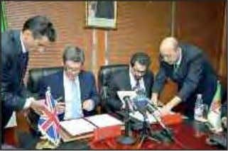 Algeria, UK sign MoU On Promotion Of English Teaching A memorandum of understan- ding and cooperation