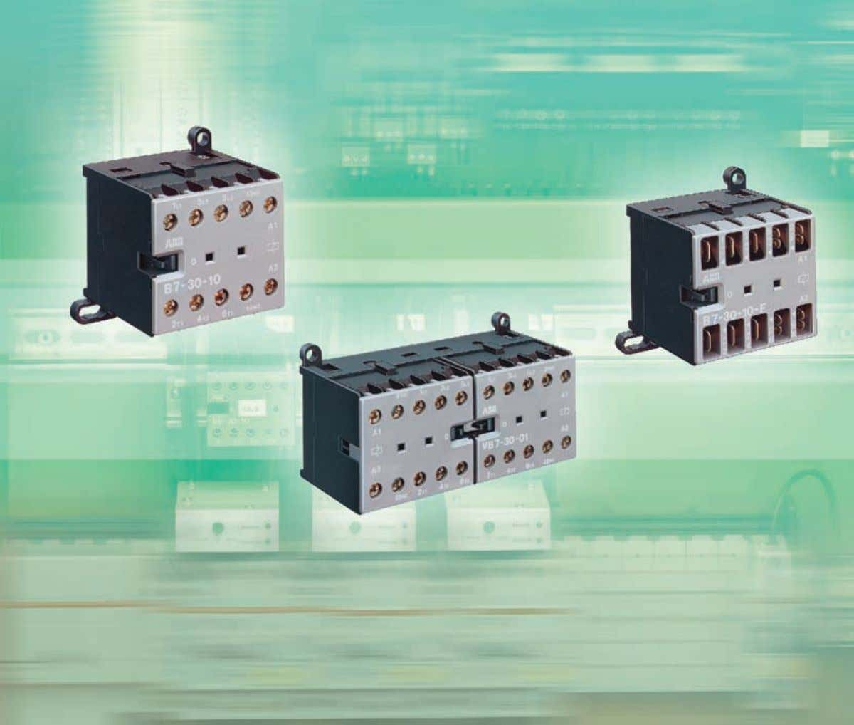 Technical Catalogue Mini Contactors Type B6, B7 ABB