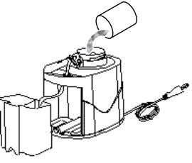 tube to allow smooth flow of water into the nozzle. Fig 3 Fig 4 F i