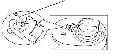 insert into the nozzles of heater tank and/or furnish tank to make them through as shown