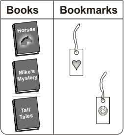 Books Bookmarks Horses Mike's Mystery Tall Tales