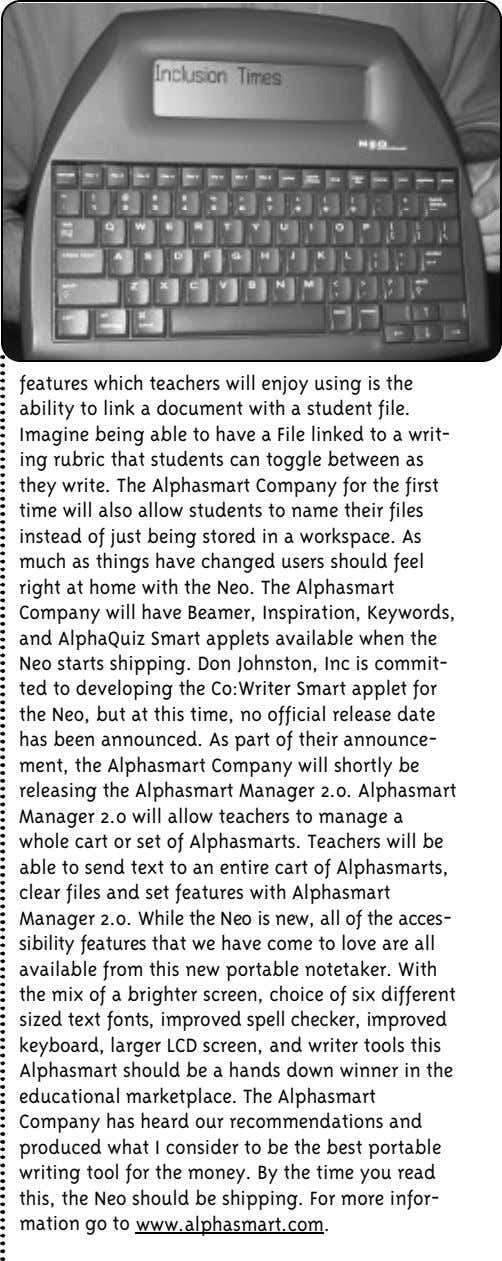 features which teachers will enjoy using is the ability to link a document with a