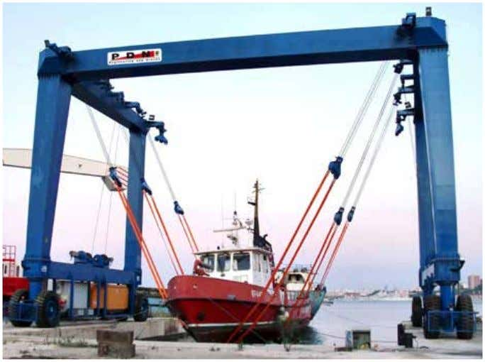 20 - 1.000 t Diesel hydraulic or diesel electric type TARANTO (ITALY) Client: Cantiere Navale Stanisci