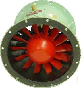 AXIAL FANS & VANEAXIAL FANS TYPE MPV APPLICATIONS The Nyborg axial fans are heavy duty fans