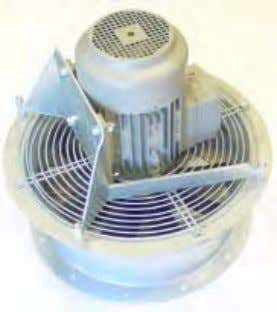 made of reinforced polypropylene. with variable pitch. MPV – D1 With D impeller for fan with