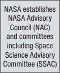 including Space Science Advisory Committee (SSAC) CHAPTER 5 • The NASA Advisory Council and Its Committees